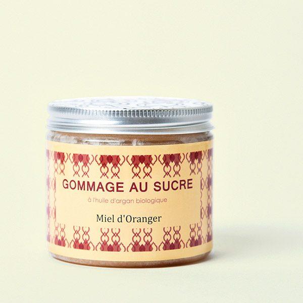 Zuckerpeeling mit Orangen_Honig: Gommage au Sucre
