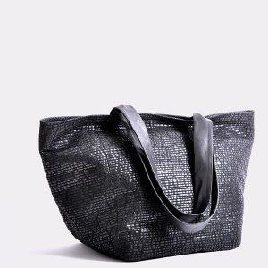 Handtasche oder Shopper BoraBora in schwarz