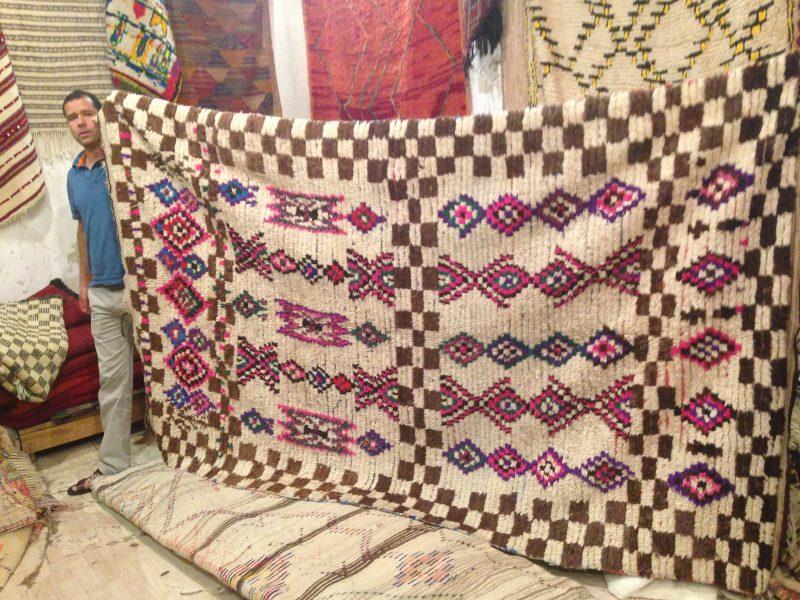 Azilal Berberteppich aus dem Atlasgebirge