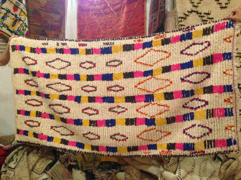 handgefertigter Berberteppich Azilal aus dem Atlasgebirge